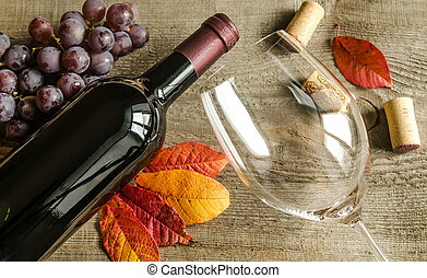 červené šaty víno