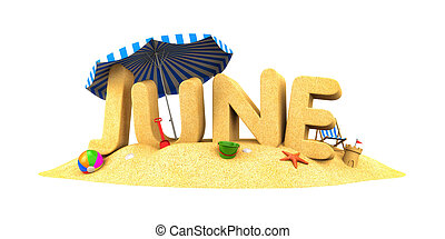 červen, -, vzkaz, o, sand., 3, ilustrace