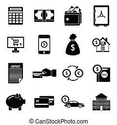 čest, ikona, dát, jednoduchý, móda