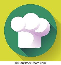 čistý, neposkvrněný, restaurace, vrchní kuchař povolání