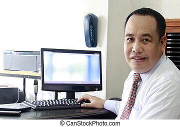 člověk obchodního ducha, dále, počítač
