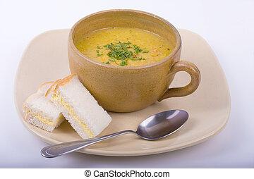 čočka polévka