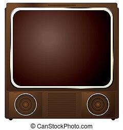 čtverec, televize