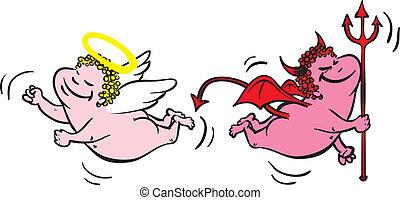 Ďáblové datování andělů