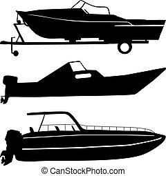 łódki, motor
