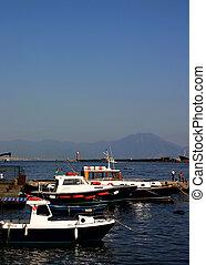 łódki, na, neapol