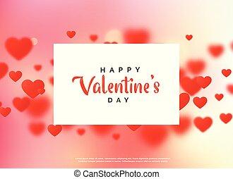 ładny, miłość, dzień, tło, valentine