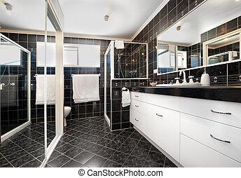 łazienka, dekoracje