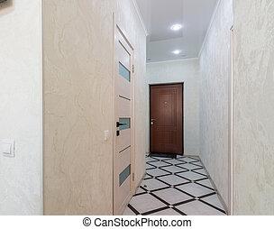 łazienka Korytarz łazienka Lekki ściany Czarnoskóry