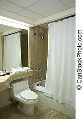 łazienka, hotel