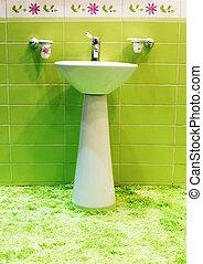 łazienka, nowoczesny