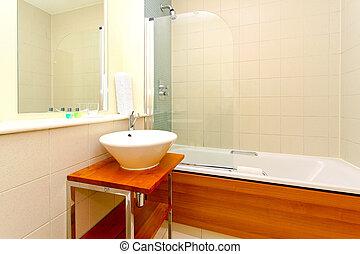 łazienka, szczegół