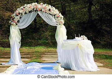 łuk, ślub