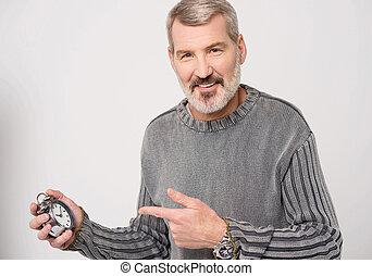 !, ő van, kávécserje időmérés