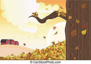 ősz, évad