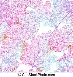 ősz, 10, leaves., eps, seamless
