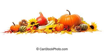 ősz, dekoráció