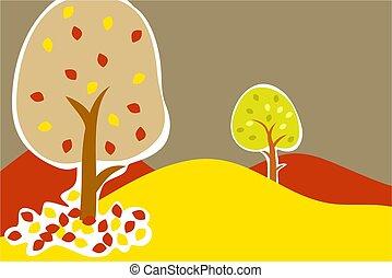 ősz fa