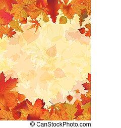 ősz, háttér., zöld, eps, 8