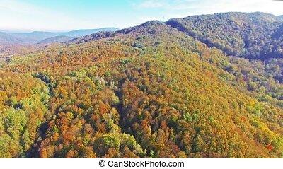 ősz, hegy.