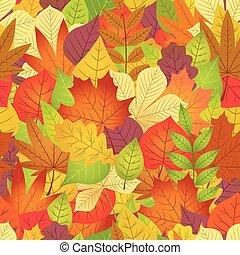 ősz kilépő, fehér, seamless, háttér