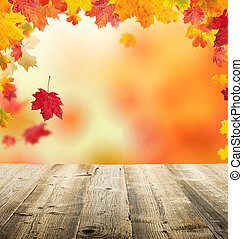 ősz kilépő, háttér
