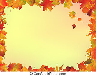 ősz kilépő, keret