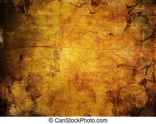 ősz kilépő, színes, struktúra