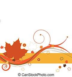 ősz, szellő