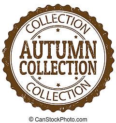 ősz, topog gyűjtés