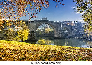 římský brid, o, orense, galicia, španělsko