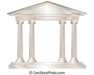řečtina, chrám