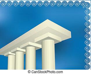 řečtina, starobylý, architektura