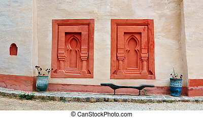 ściana, agadir, medyna