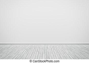 ściana, biały