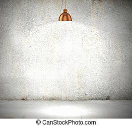 ściana, kamień, czysty