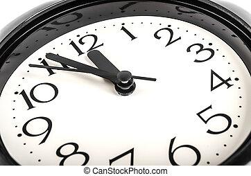 ścienny zegar