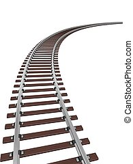 ślad, pociąg