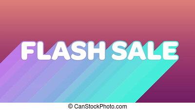 ślady, błysk, graficzny, sprzedaż, różowy, ciemne tło, 4k, barwny