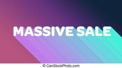 ślady, graficzny, sprzedaż, ciemne tło, 4k, purpurowy, barwny, masywny