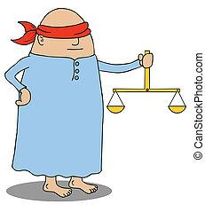 ślepa sprawiedliwość