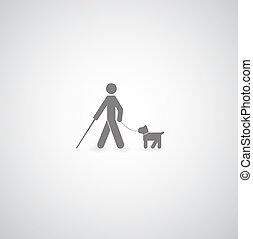 ślepy, symbol