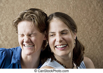 śmiech, kobiety