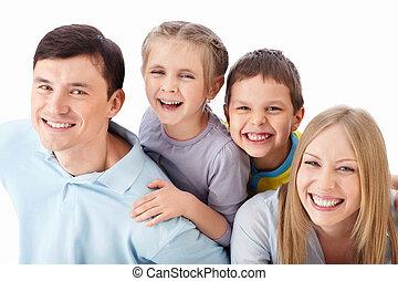 śmiech, rodzina