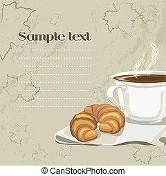 śniadanie, francuski