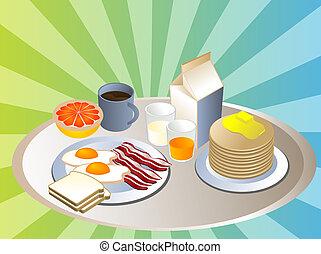 śniadanie, zupełny