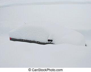 śnieżny, wóz