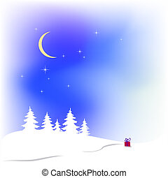 śnieg, boże narodzenie, tło