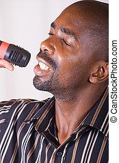 śpiewak, afrykanin