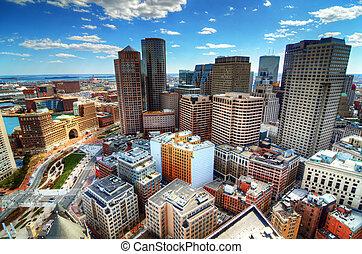 śródmieście, boston